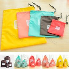 Travelling Portable Drawstring Dress Shoes Dust-proof Bags Pouch Case Waterproof