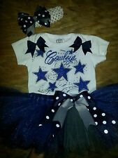 Dallas Cowboys tutu outfit, NFL, football, sizes nb-6