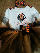 Cincinatti Bengals tutu outfit, NFL, football, sizes nb-6