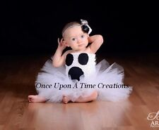 Ghost Tutu Dress Girls 6 12 Months Size 2T 3T 4T 5 6 Halloween Costume