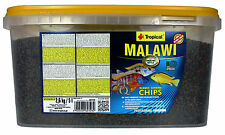 Malawi Chips Granulated Fish Food for Malawi Mbuna Cichlids with Spirulina!