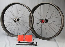 For SRAM XX1 Carbon Fatbike Wheelset Tubeless or Clincher With Thru Axle 12x190