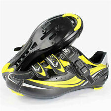 Santic WS12008 Touring / Road Bike SPD Cycling Shoes - Yellow