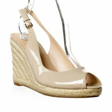 M.F. Excellent Espadrille Wedge - Light Natural