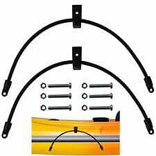 2 Pcs Kayak Bungee Paddle Holder Paddle Keepers Holders Kit for Kayak & Canoe