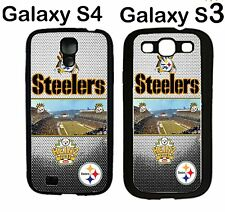 pittsburgh steelers NFL Samsung Galaxy S3 Galaxy S4 Case Hard Silicone Case #3