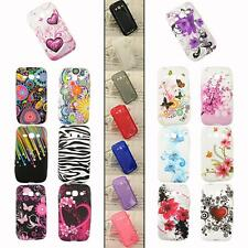 For Samsung Galaxy Ace 3 III S7270 S7272 S7275 Rubber Case Cover Shell Back Skin