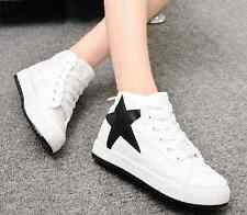 2014 new high-top canvas boots female Korean version of casual flat shoes