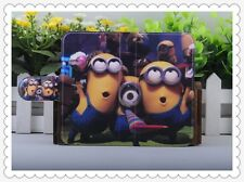 hot sale Colourful Funny Despicable me PU LEATHER FLIP Case COVER for Lenovo 4