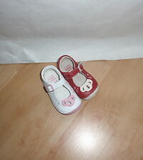 NEW Clarks girls first shoess baby leather buckle and strap shoes - various size