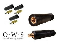 Dinze Dinse Type Welding Connectors - Cable Plug (Male) and Socket (Female)