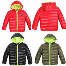 Puffer Jacket Kids Girls Boys Clothes Outwear Outfit Coat Winter Fresh Candy Col
