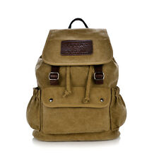 New Fashion Men Women Canvas Laptop Backpack School Bag Rucksack Travel Bag-1153