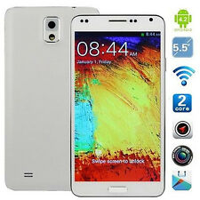 "New 5.5""3G+GSM GPS Android 4.2 Dual Sim Unlocked Straight Talk AT&T Smartphone"