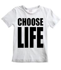 CHOOSE LIFE UNISEX KIDS T-SHIRT - 80s Fancy Dress Wham George Michael ALL SIZES