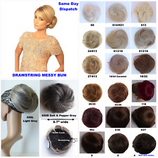 SALE Clip On Lovely Quality Large Messy Bun like Beauty Works 19 Colours