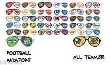 NEW 2014 **PICK YOUR TEAM** NFL FOOTBALL AVIATOR SUNGLASSES RETRO HAT TSHIRT