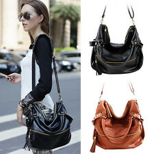 New Women Lady Handbag Shoulder Bag Tote Purse PU Leather Messenger Hobo