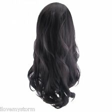 STRANDED KIMBERLEY CLAW CLIP SYNTHETIC HALF HEAD LOOSE CURL WIG WAVY ALL COLORS