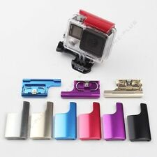 New Colorful CNC Aluminum Lock Buckle for GoPro Hero 3+ Protective Housing Case