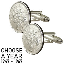 50th birthday cufflinks own a piece of history - Ideal gift for 50 year old
