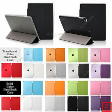 """Fashionable PU Leather Smart Cover Hard Back Case for Apple iPad Air 9.7""""Device"""