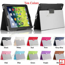"Cross Pattern PU Leather Smart Cover Case for iPad 2 iPad 3 iPad 4 9.7"" Device"