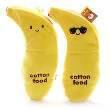 Cotton Food Banana Cushion Pillow /smile/sunglass/2Face each/Banana Peel