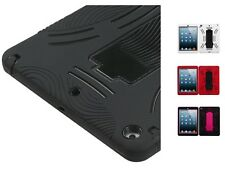 Impact Rugged Hard + Silicone Protective Cover Case w/ Stand for iPad 5 Air