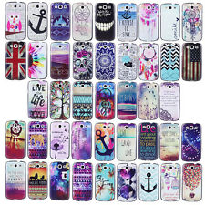 Waffa / Plastic Pattern Hard Protect Case Cover For Samsung Galaxy SIII S3 i9300