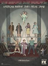 AMERICAN HORROR STORY - FREAK SHOW TV Show Poster Coven Asylum