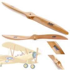 AGM Wood Propeller 16x8/17x8/22x8 for RC Aircraft, Wooden Aircraft Prop in UK