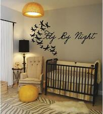 Fly By Night | Dragonfly Wall Decals | Nursery Kids Bedroom Vinyl Stickers
