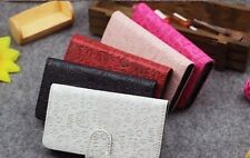 Lovely Cute Magic Girl Flip Pouch Leather Case Cover For HTC Sony Mobile Phones