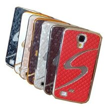 Samsung Galaxy S4 SIV i9500 S Line Designer Luxury Hard Chrome Slim Case Cover