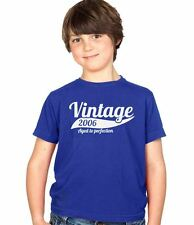 Vintage 2006 8th Birthday Childs Present Party Gift Kids Boys & Girls T-Shirt