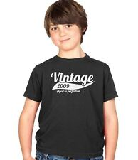 Vintage 2009 5th Birthday Childs Present Party Gift Kids Boys & Girls T-Shirt