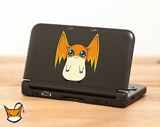 Patamon Digimon decal sticker for Nintendo 3DS, 3DS XL, iPad and more! MA051