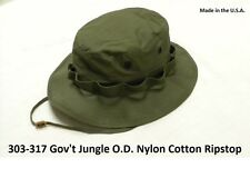 Military Boonie Hat OD Green GI Jungle Hat Special Ops Recon Made In The U.S.A