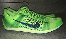 NEW Mens 11.5 NIKE Zoom Victory XC 2 Lime Green Cross Country Track Spikes Shoes