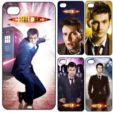 New Dr. Doctor Who David Tennant & Flying Tardis iPhone 4s Phone Case Hard Cover