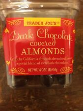 1-4x Trader Joe Chocolate Almond Nut Dark Milk Candy Perfect Movie Snack Holiday