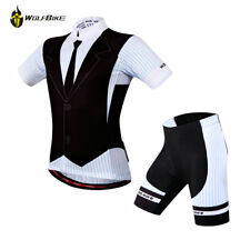 Mens Womens Cycling Jersey Cycle Short Sleeves Shirt Bicycle Jersey Shorts Pants