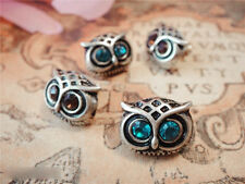 Cute Alloy Owl Stud Earrings