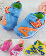 New Hot Toddler Baby Boy Girl Soft Sole Crib Shoes Sneaker Sport Kids Size 5-8