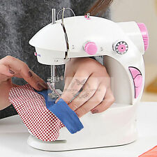 New Mini Electric Handheld Portable Sewing Machine Battery/Mains Powered FRJe1