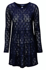 La Redoute Navy Angora Blend Long Tunic or Jumper Dress Size 8 10 12 14 16 18
