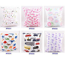 Wet Dry Bag Colorful For Baby Cloth Diapers 6 Colors Supply