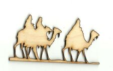 Three Wise Men  Unfinished Wood Shapes Craft Supplies Laser Cut Outs DIY 891