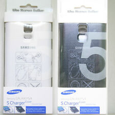 Genuine Samsung Galaxy S5 Qi Wireless Charging Cover original case EP-CG900IBKG